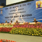 Dr. Sarkar, Guest Speaker at the International Conference on Yoga for Body & Beyond (June 22-23, 2016 - New Delhi, India)